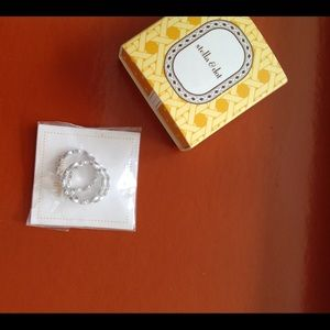 Stella& dot set of three ring